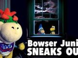 Bowser Junior Sneaks Out!