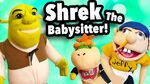 Shrek The Babysitter