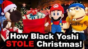 Jeffys Bad Christmas.How Black Yoshi Stole Christmas Supermariologan Wiki