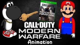 SML Movie- Black Yoshi's Call Of Duty Modern Warfare! Animation BEHIND THE SCENES