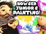 Bowser Junior's Painting!