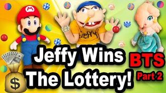SML Jeffy WINS The LOTTERY!!! Behind The Scenes pt. 2