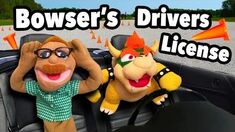 SML Movie- Bowser's Drivers License!