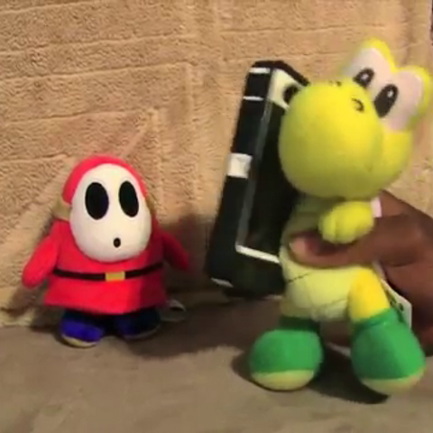Joesph talking on the phone to Bowser Junior along with Tanner