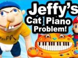Jeffy's Cat Piano Problem!
