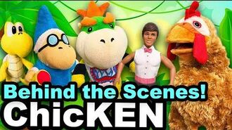 SML Movie ChicKEN (DANGEROUS HOUSE FIRE) Behind the Scenes