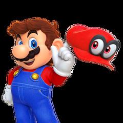 Mario with his cap
