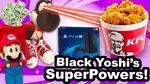 Black Yoshi's SuperPowers
