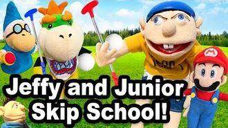 SML Movie Jeffy And Junior Skip School!