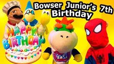 SML Movie Bowser Junior's 7th Birthday!