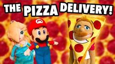 SML Movie- The Pizza Delivery!