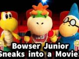 Bowser Junior Sneaks into a Movie!