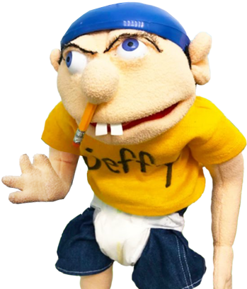 image jeffy new with hand up png supermariologan wiki fandom