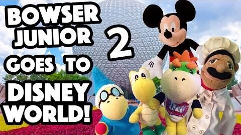 SML Movie Bowser Junior Goes To Disney World! 2
