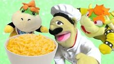 SML Movie Bowser Junior's Macaroni