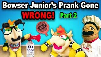 SML Junior's Prank Gone WRONG! BTS! Pt. 2