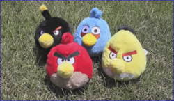 We're the Angry Birds!