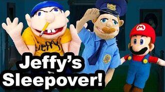 SML Movie- Jeffy's Sleepover!