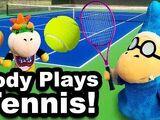 Cody Plays Tennis!