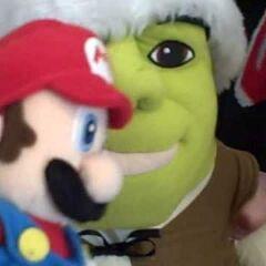 Mario in the Santa Episode in 2008.