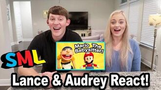 SML Movie Mario The Babysitter *Reaction*