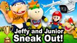 Jeffy and Junior Sneak Out