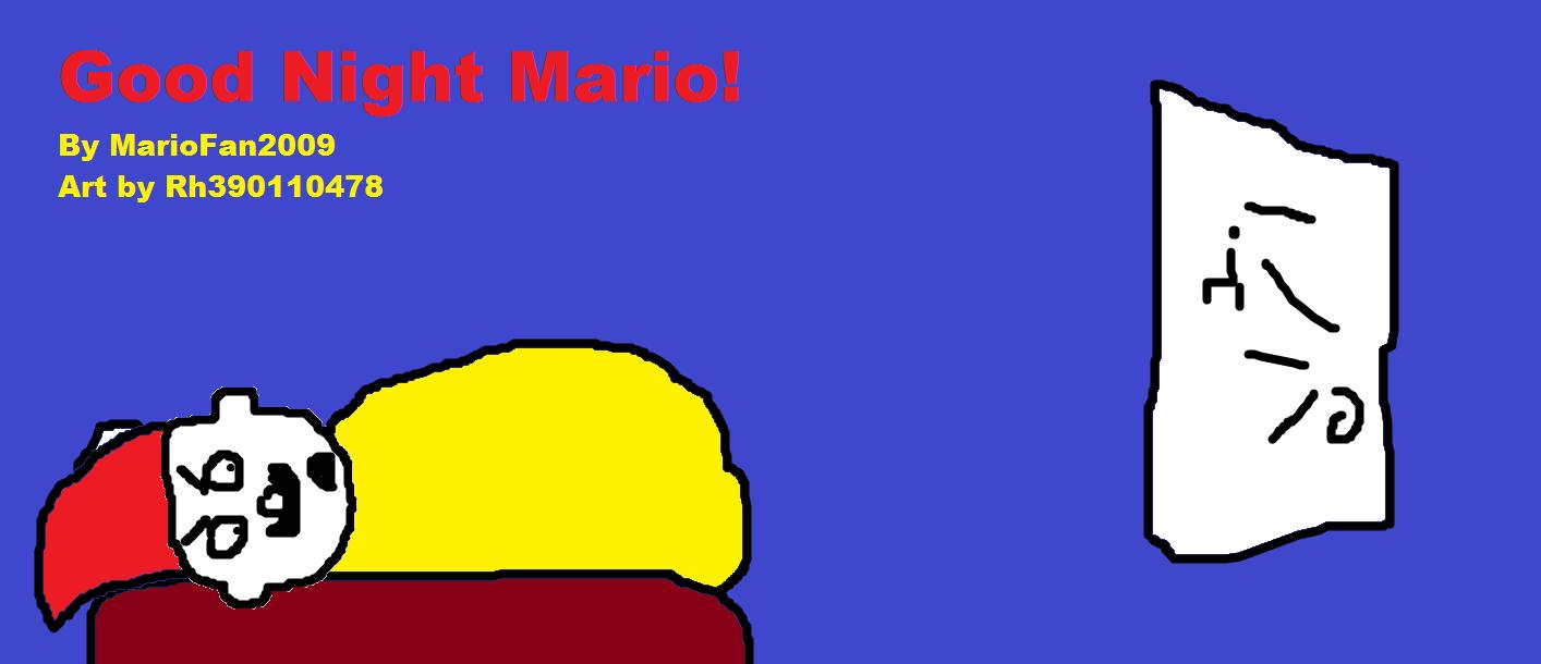 Good Night Mario