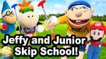 Jeffy and Junior Skip School!
