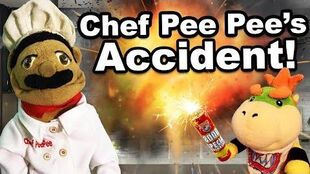 Chef Pee Pees Accident