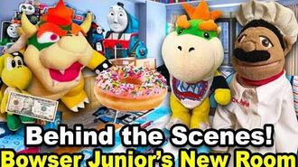 Bowser Junior's New Room - Behind The Scenes!