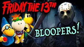 "SML Movie ""Friday The 13th"" BLOOPERS"