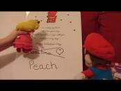 PeachLooksAtCard