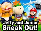 Jeffy and Junior Sneak Out!