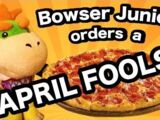 Bowser Junior Orders A Pizza!