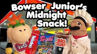 SML Movie- Bowser Junior's Midnight Snack!