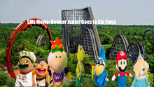 Bowser Junior Goes To Six Flags
