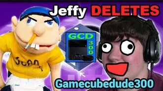 SML Jeffy DELETES Gamecubedude300s Channel!! NO MORE REACTIONS