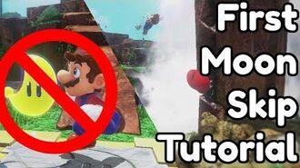 Super Mario Odyssey - First Moon Skip - Advanced Strategy Tutorial