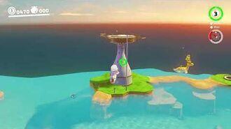 Super Mario Odyssey Air Swimming Glitch