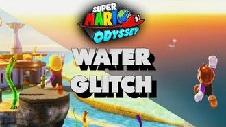 THE WATER DISAPPEARED?! - Super Mario Odyssey Glitch
