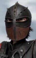 Hiccup in Helmet
