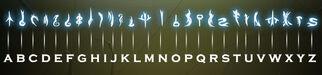 Draconic alphabet