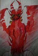 Artistian red dragon by sabanda5-dau83em