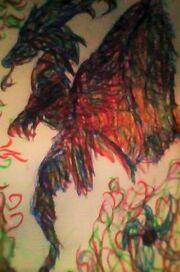 Kolorowy smok