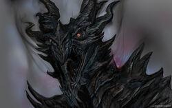 Alduin Concept Art (Skyrim)