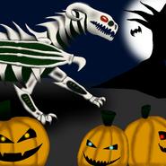 Halloweenowy rysiag