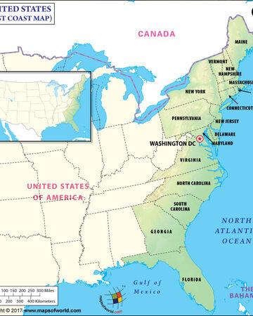 Atlantic coast of the United States | SMOMS2009 Wiki | Fandom