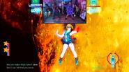 Halloween Just Dance 2020 LasercornVsIan screen