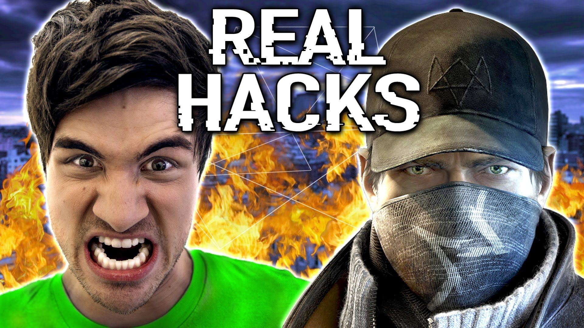 REAL WATCH DOGS HACKS! (w/ Rob Drydek) | Smosh Wiki | FANDOM