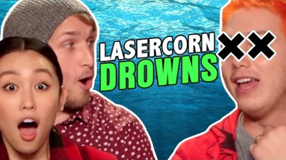 Lasercorn Almost Drowned (The Show with No Name)